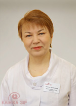 MARTYNENKO, Olena Artemivna, ophthalmologist of the highest category; cataract, glaucoma, and plastic surgery